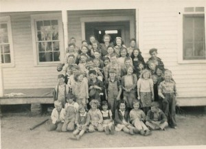 Bethel 1949.  Photograph courtesy of Maury County Archives.