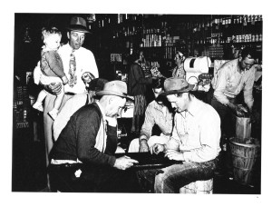 Bethel General Store 1946.  Photograph courtesy of Maury County Archives.