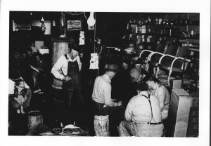 Bethel Store. Photograph courtesy of Maury County Archives.